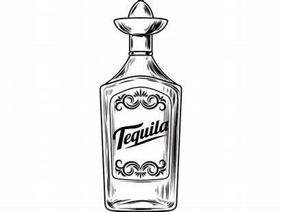 Bottle Tequila Liquor Alcohol Svg Bar Glass