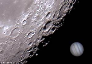 The day the moon 'ate' Jupiter! Stunning video shows ...