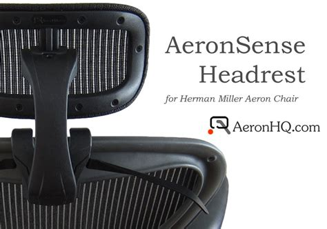 headrest genuinely engineered for herman miller aeron