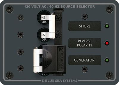 Blue Sea Systems Panel Source Select Vac