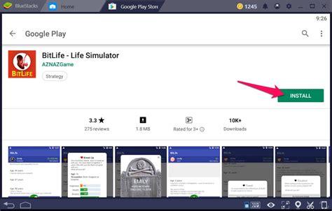 bitlife simulator windows techyforpc step