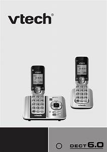 Vtech Dect 6 0 Cs6529-2 User U0026 39 S Manual