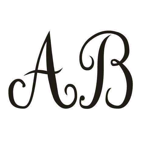 fonts monograms  calligraphy