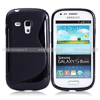 housse galaxy s3 mini coque samsung i8190 galaxy s3 mini s line silicone gel housse