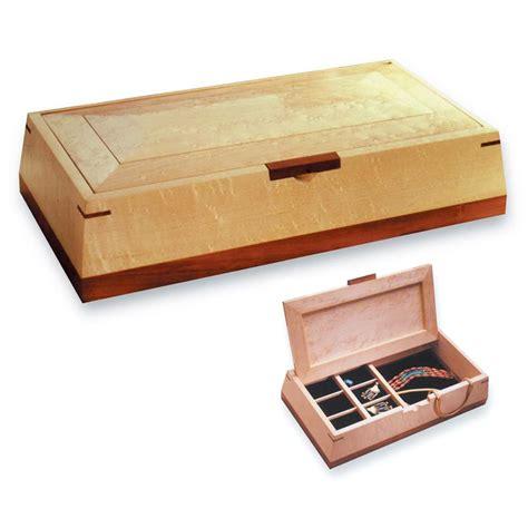 beveled beauty jewelry box woodworking plan  wood magazine