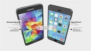 Comparatif Iphone 6 Et Se : iphone 6 vs galaxy s5 sortie d 39 un comparatif du smartphone avec ses concurrents en 3d ~ Medecine-chirurgie-esthetiques.com Avis de Voitures