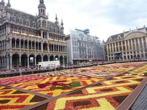 restos et tapis de fleurs sur la grand place de bruxelles joelle rochette