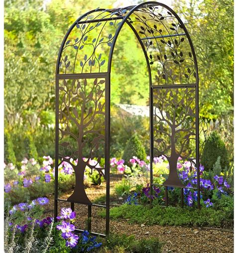 metal garden arbor arch archway weddings patio yard