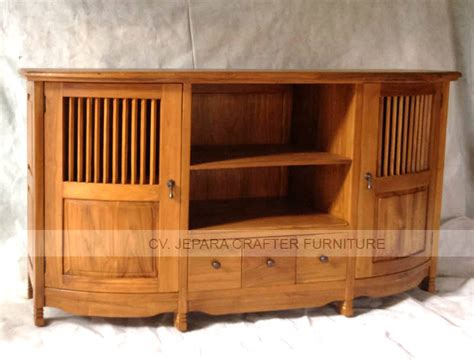 tv table teak wood furniture indonesia wholesale direct