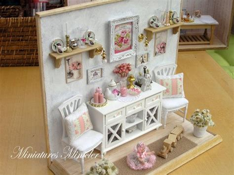 628 Best Images About Miniature Vitrine On Pinterest