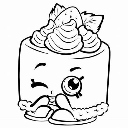 Coloring Pages Cartoon Shopkins Fresh Printable Getcolorings