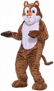 Color Chart With Names Tiger Deluxe Mascot Costume Partybell Com