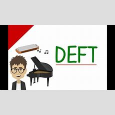 Advanced English Words  Deft (vocabulary Video) Youtube