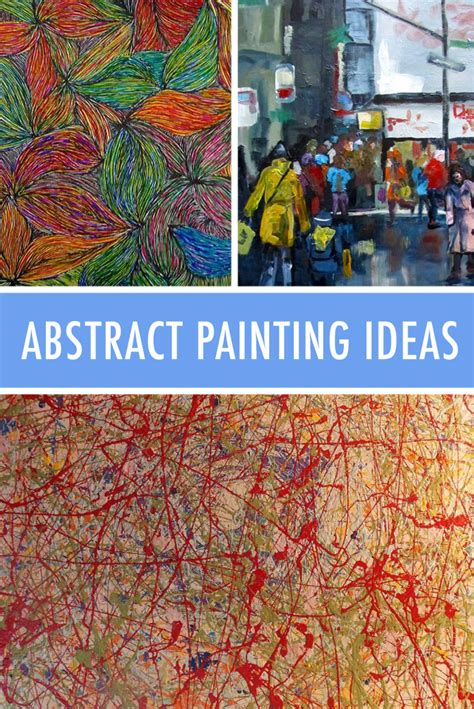 express   abstract painting ideas