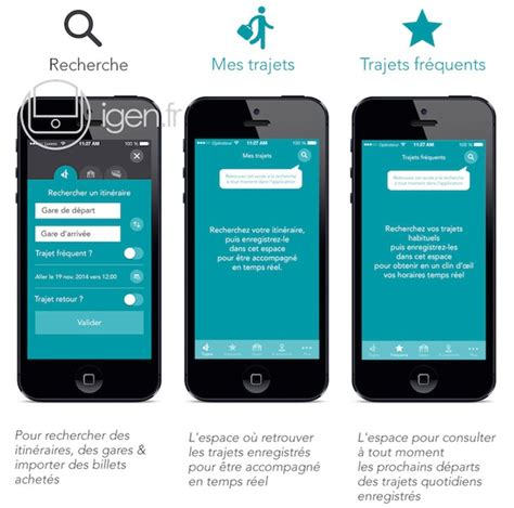 Modifier Billet Sncf Appli by Info Igen La Nouvelle App Unifi 233 E De La Sncf En Images
