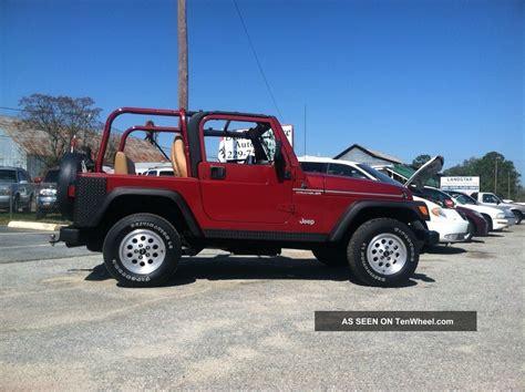 wrangler jeep 2 door 1998 jeep wrangler se sport utility 2 door 2 5l