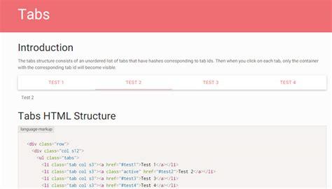 uiux principles  tabbed website widgets
