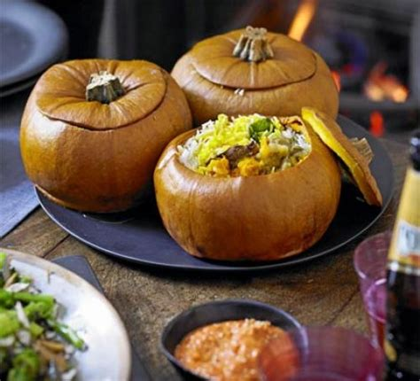 Halloween Appetizers For Adults With Pictures pumpkin biryani recipe bbc good food