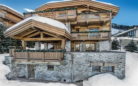 luxury ski chalet chalet les bastidons courchevel 1850 firefly collection