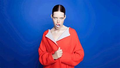 Milly Walsh Sagmeister Identity Visual Brand Edgy