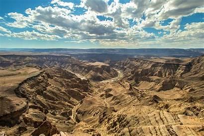 Canyon River Fish Namibia Desert Visiter