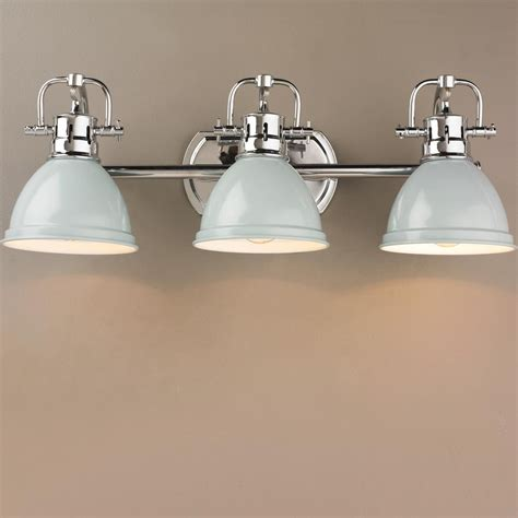 Classic Bathroom Fixtures by Classic Dome Shade Bath Light 3 Light In 2019