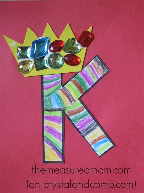 letter k crafts crafts for letter k the measured