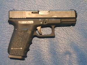 Glock 38 with Robar grip reduction for sale