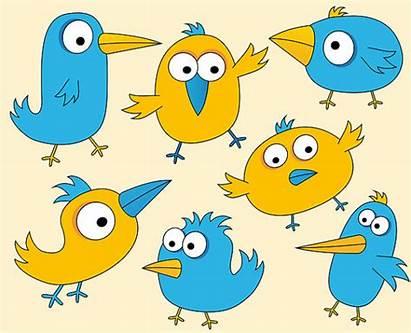 Birds Clip Clipart Funny Bird Things Digital