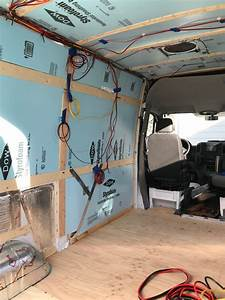 Camper Van Solar Panels  U0026 Electrical System  With Wiring Diagram