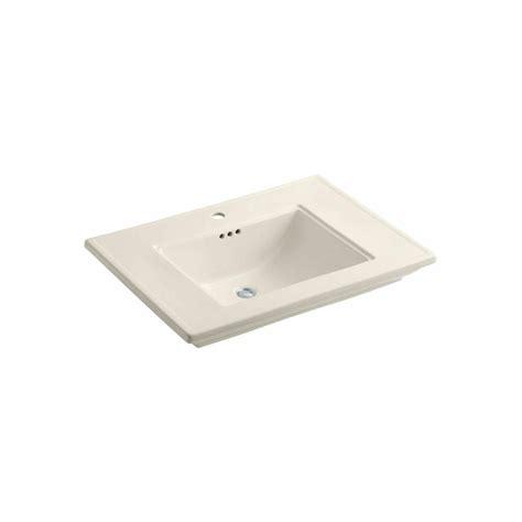 Home Depot Pedestal Sink Basin by Kohler Memoirs 5 In Ceramic Pedestal Sink Basin In Almond