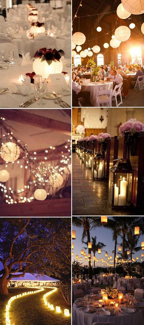Different Lanterns Inspired Rustic Wedding Reception