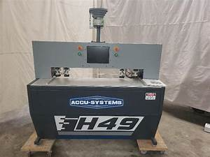 Accusystems H49 Bore And Dowel Machine