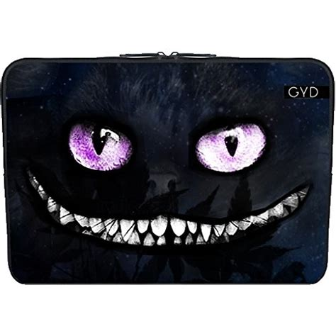 housse pc portable originale housse neoprene pc ordinateur portable 13 3 quot pouces le chat du cheshire by julien kaltnecker