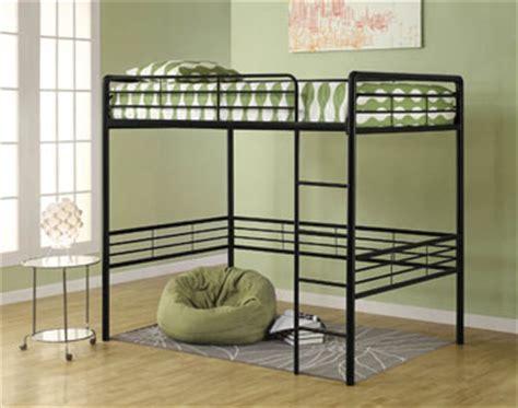 amazoncom dorel home products full loft bed black