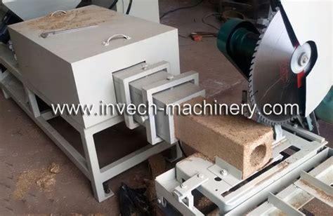 heads wood sawdustchips block machinecompress