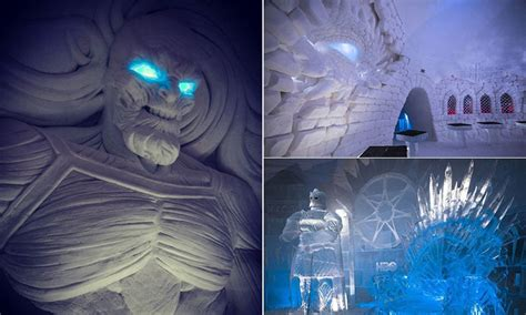 game  thrones ice hotel  opened  finland