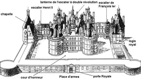 cuisine blois nombre de cheminée chateau de chambord chateau u montellier