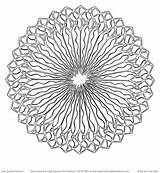 Mandala Coloring Spiral Pages Mandalas Mindfulness Adult Drawings Template Drawing Patterns sketch template