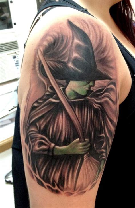 incredible witch tattoos