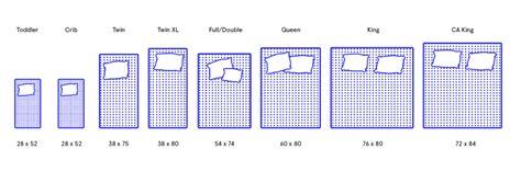 Single Mattress Size by Mattress Size Chart Single King Or