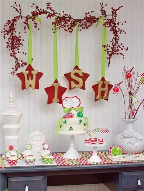 christmas wall decorations ideas  deck  walls