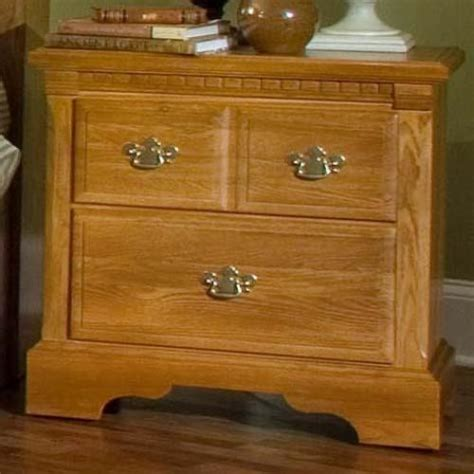 Oak Nightstand With Drawers by Oak Ii Bedside Nightstand With 2 Drawers 920 266