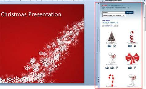 original christmas powerpoint template