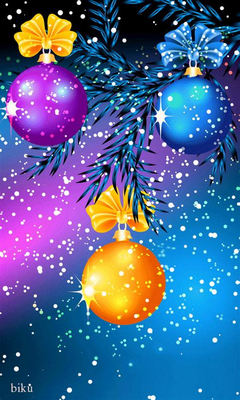 Merry Animated Gif Wallpaper - ornaments animated gif merry and