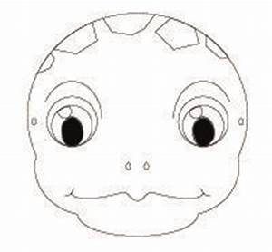 endangered animal masks for kids to make http www With tortoise mask template