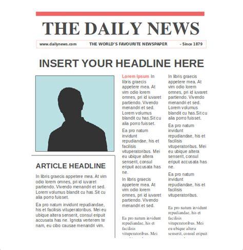 news paper templates word  psd