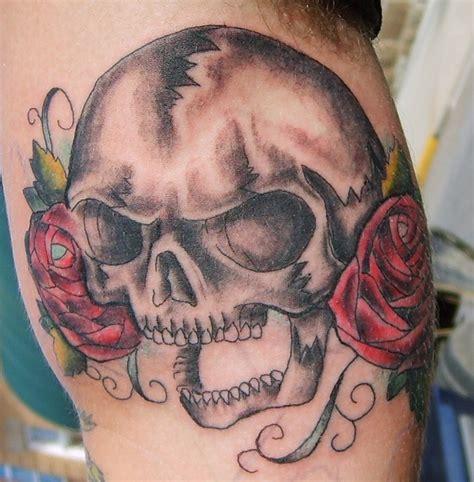 bold flower tattoos  men tattoo