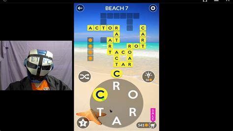 Wordscapes Beach 7 Answers Youtube