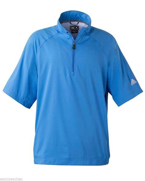 adidas golf mens  xl xl xl climaproof short sleeve wind